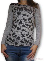 Блуза с котки