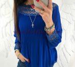 туника Камиле в синьо