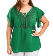 блуза Силви в зелено