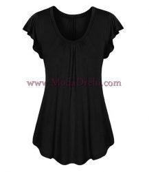 блуза Сина в черно