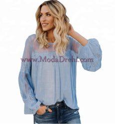 блуза Сани в синьо