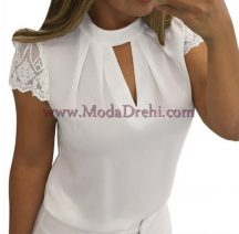 блуза Сами в бяло