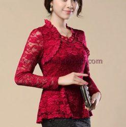 блуза Слай в червено