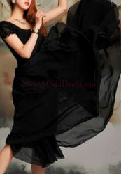 рокля Сибил в черно
