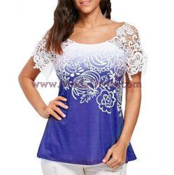 Блуза Белла в синьо