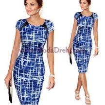 рокля Барб в синьо