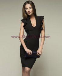 рокля Сани в черно