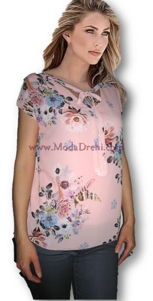 Блуза Бела в розово